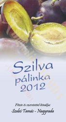 Pálinka címke - Szilva