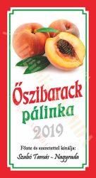 Pálinka címke - Őszibarack